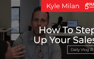 How to step up your sales