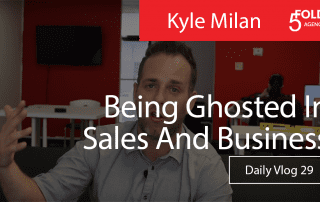 how to follow up in sales and stop getting ghosted