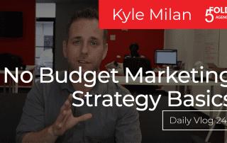 marketing strategy basics no budget