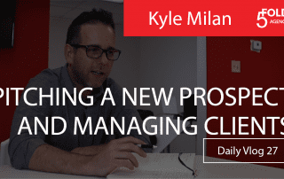 pitching prospects and managing clients