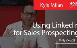 using linkedin for sales prospecting