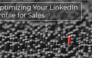 how to optimize your linkedin for sales