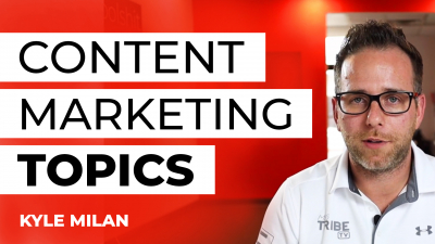 content marketing topic selection